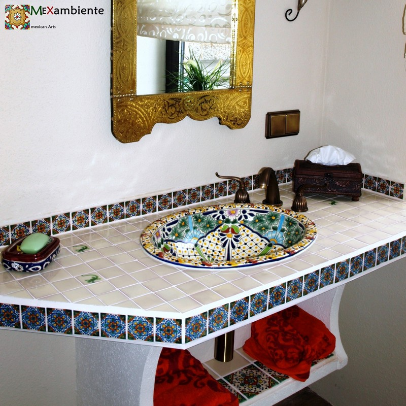 vom orient in die neue welt marokkanische fliesen. Black Bedroom Furniture Sets. Home Design Ideas