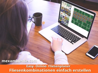 <p>Erstellen Sie Ihre persönliche Fliesenkombination. Unsere Mexambiente Online Fliesenplaner hilft Ihnen dabei. Probieren Sie es gleich aus! Es macht spaß!</p>