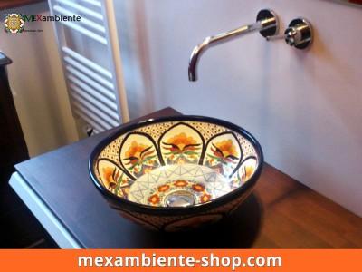 <p>Die Mexambiente Waschschale MEX3 ist perfekt als Gästewaschbecken</p>