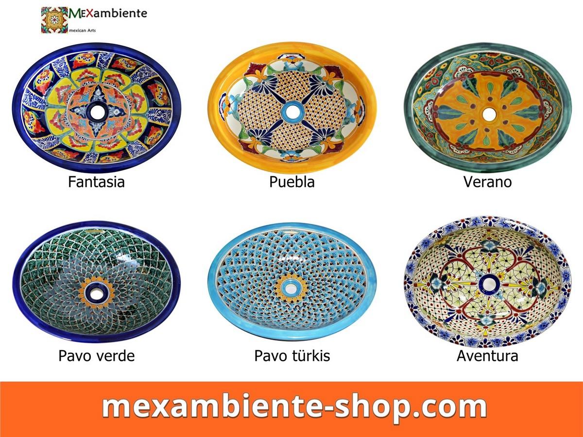 Mexambiente - Mexikanische Waschbecken -