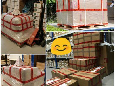 <p>Unsere Mexikanische Fliesen und Waschbecken sicher verpackt! Wir versenden unsere Ware sicher verpackt mit Paketdient wie: DHL, DPD und Spedition europaweit</p>