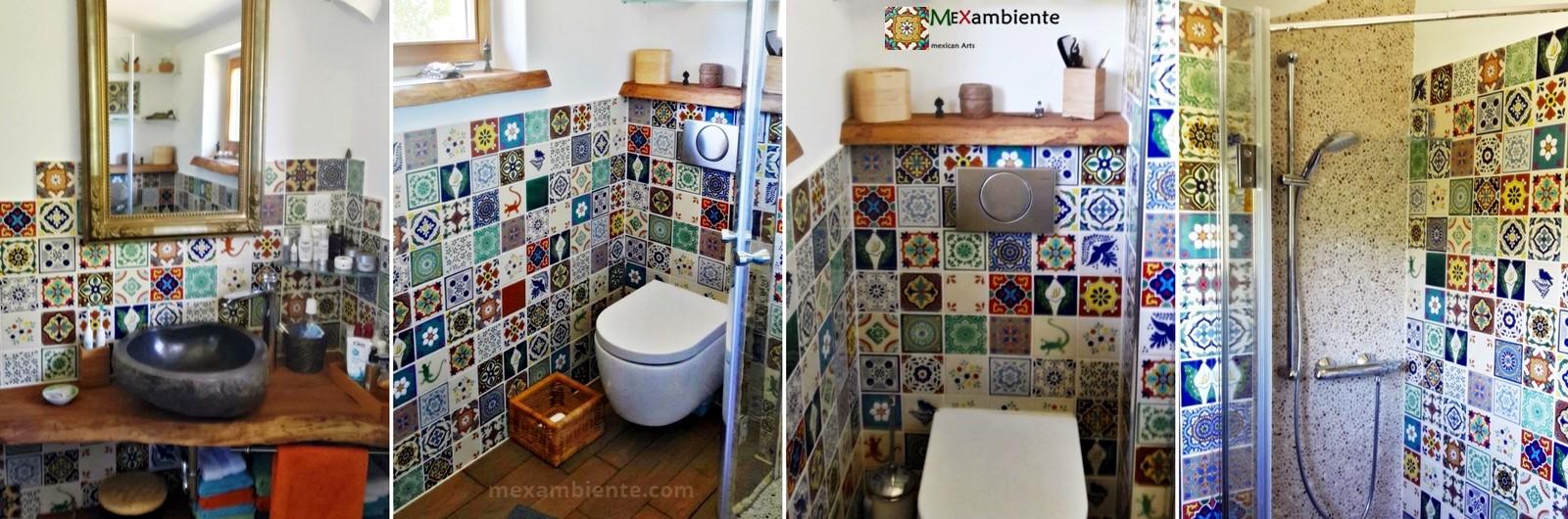Galerie Fotos mexikanische Waschbecken u0026 Fliesen