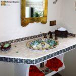 Marokkanische Fliesen für südliches Flair im Badezimmer