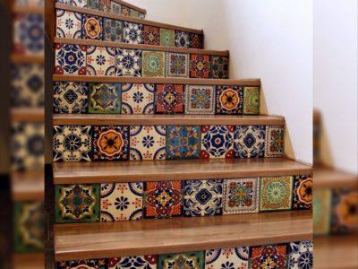 <p>Mexikanische Fliesen für Treppenstufen sind eine tolle Idee.Unsere MexambienteFliesen zieren auch Treppen, die nicht jeder hat! Mit mexikanischen Fliesen gestaltete Treppen schaffen individuelle und angenehme Wohnqualität im Treppenhaus.</p>