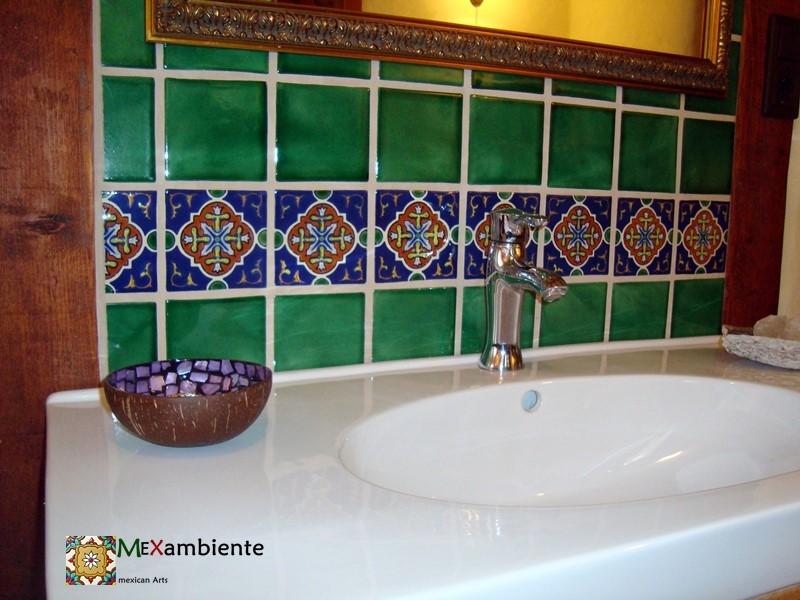Marokkanische Fliesen für südliches Flair im Badezimmer - ::