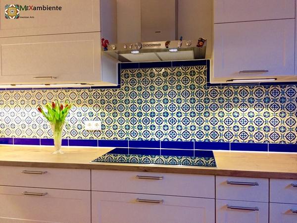 marokkanische fliesen für die Küche